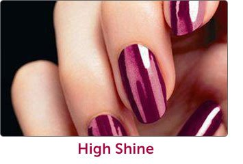 High shine Manicures and Pedicures